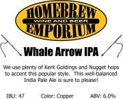 whale arrow