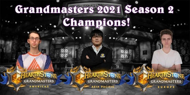 グランドマスターズ2021・シーズン2のチャンピオンが決定!