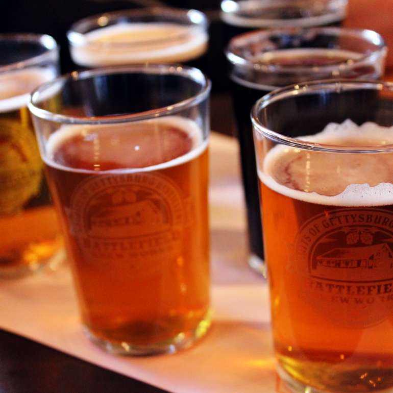 Battlefield Brew Works in Historic Gettysburg