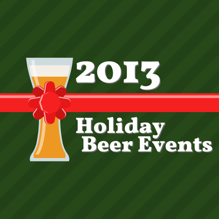 Holiday Beer Events 2013