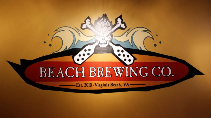 Catching Suds at Beach Brewing