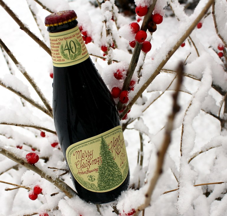 Steph's New Brew Review: Anchor Christmas Ale
