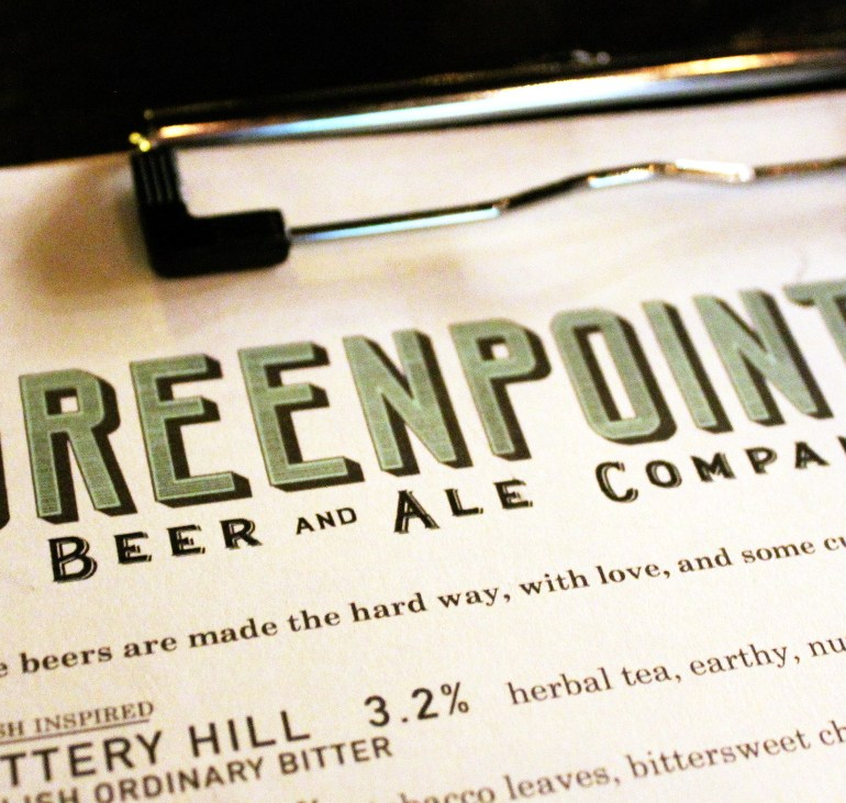 Greenpoint Beer & Ale at Dirck The Norseman