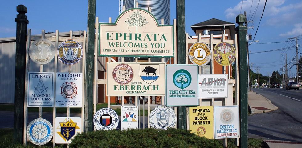Ephrata-Sign