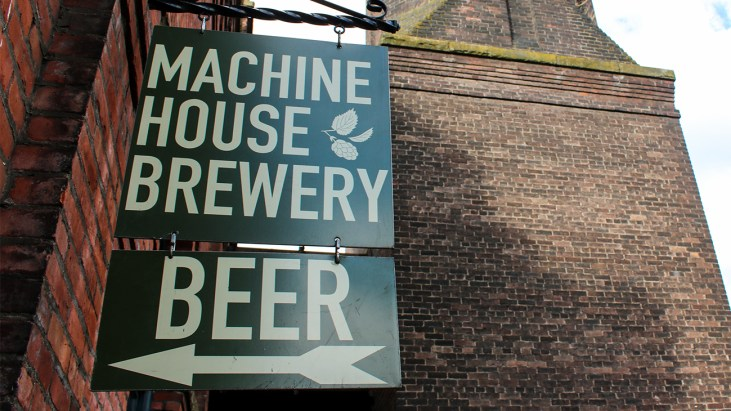 Traditional Cask Ale at Machine House Brewery