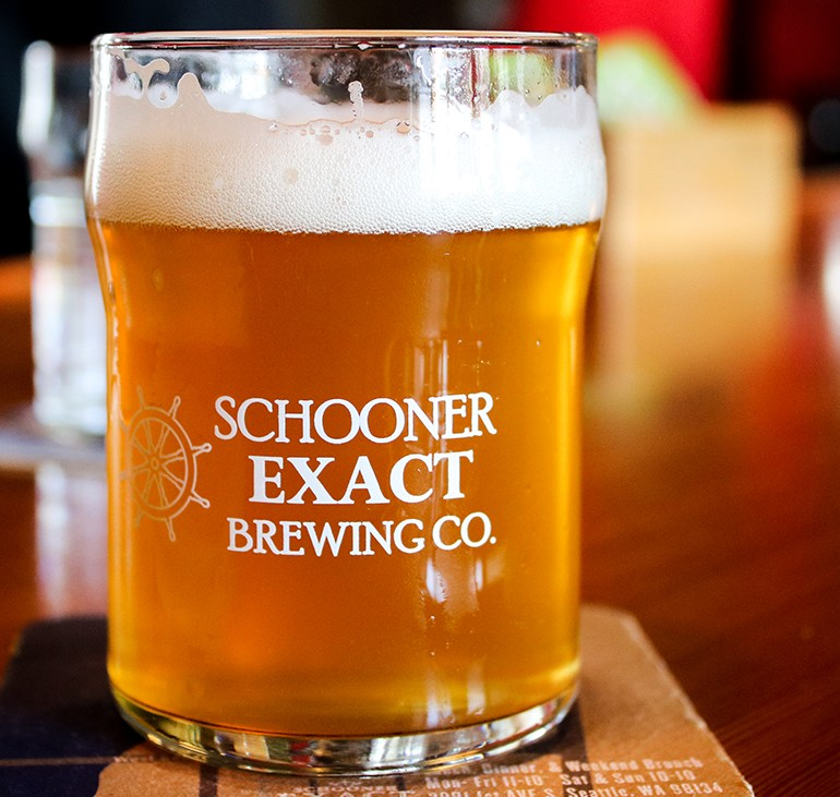 A Sea of Suds at Schooner EXACT Brewing Company