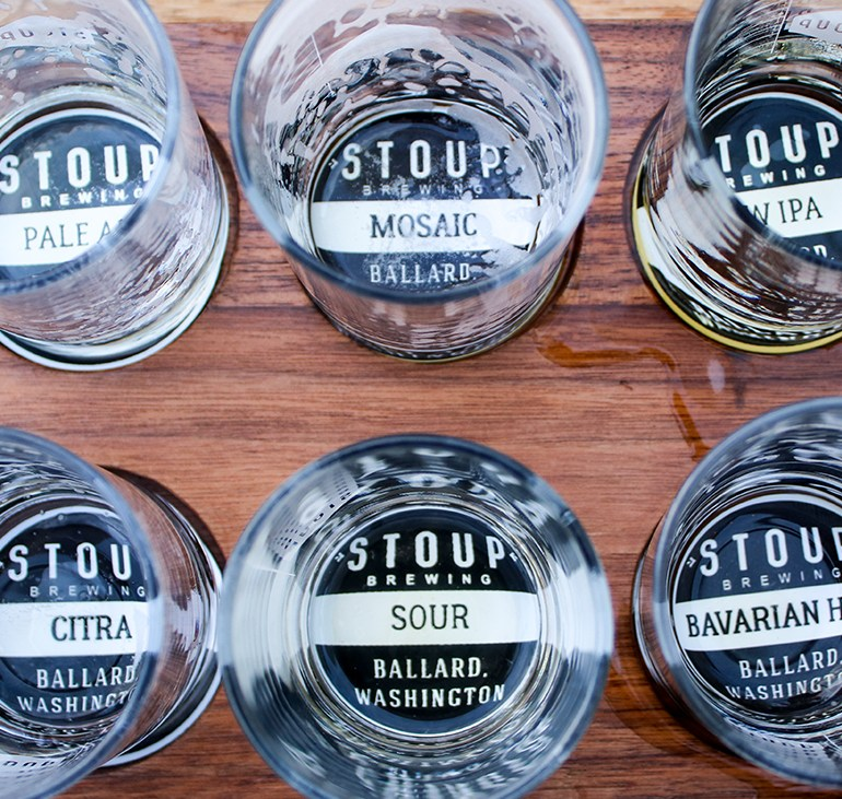 A Summer Stop to Sip Some Suds at Seattle's Stoup Brewing