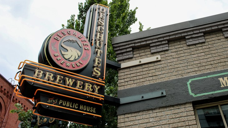 Brews and Food at Deschutes Brewery and Public House