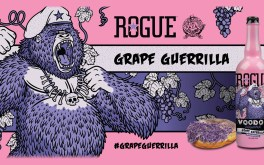 Grape Guerrilla Ale is the Newest Release in Rogue's Voodoo Doughnut Series