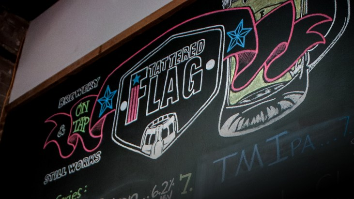 Come Raise a Flag at Tattered Flag Brewery and Still Works