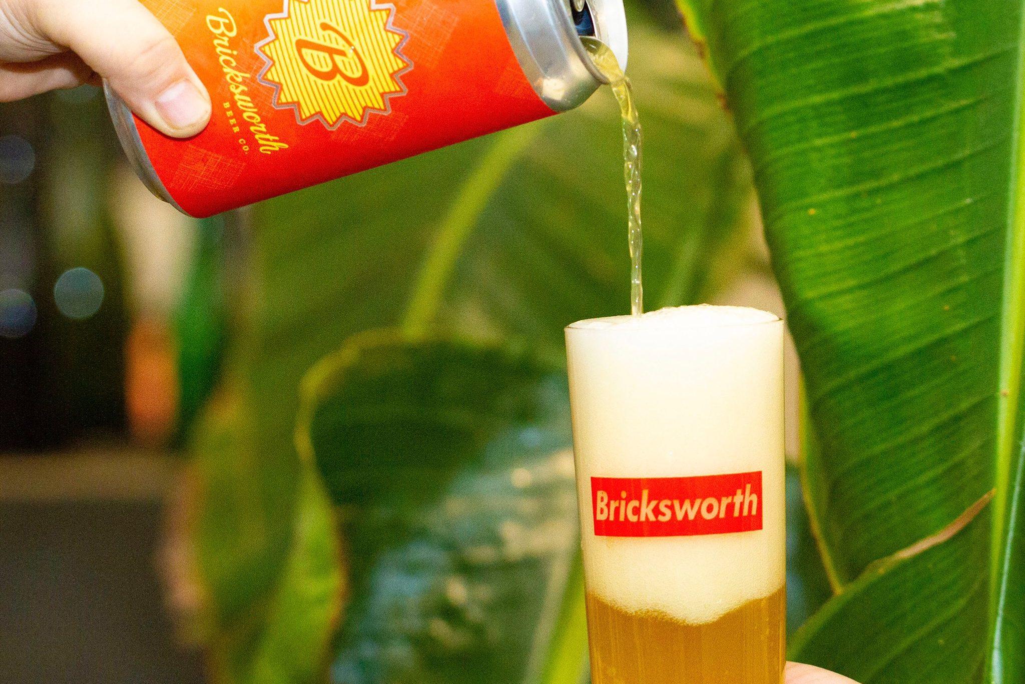 Bricksworth Copacabana Berliner Weisse • Photo via Bricksworth Beer