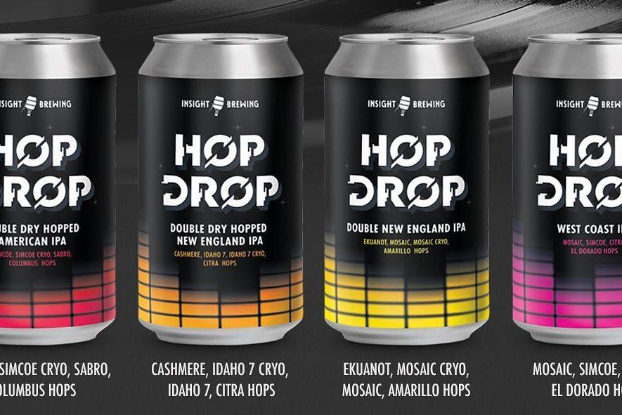 Insight Hop Drop • Graphic via Insight Brewing