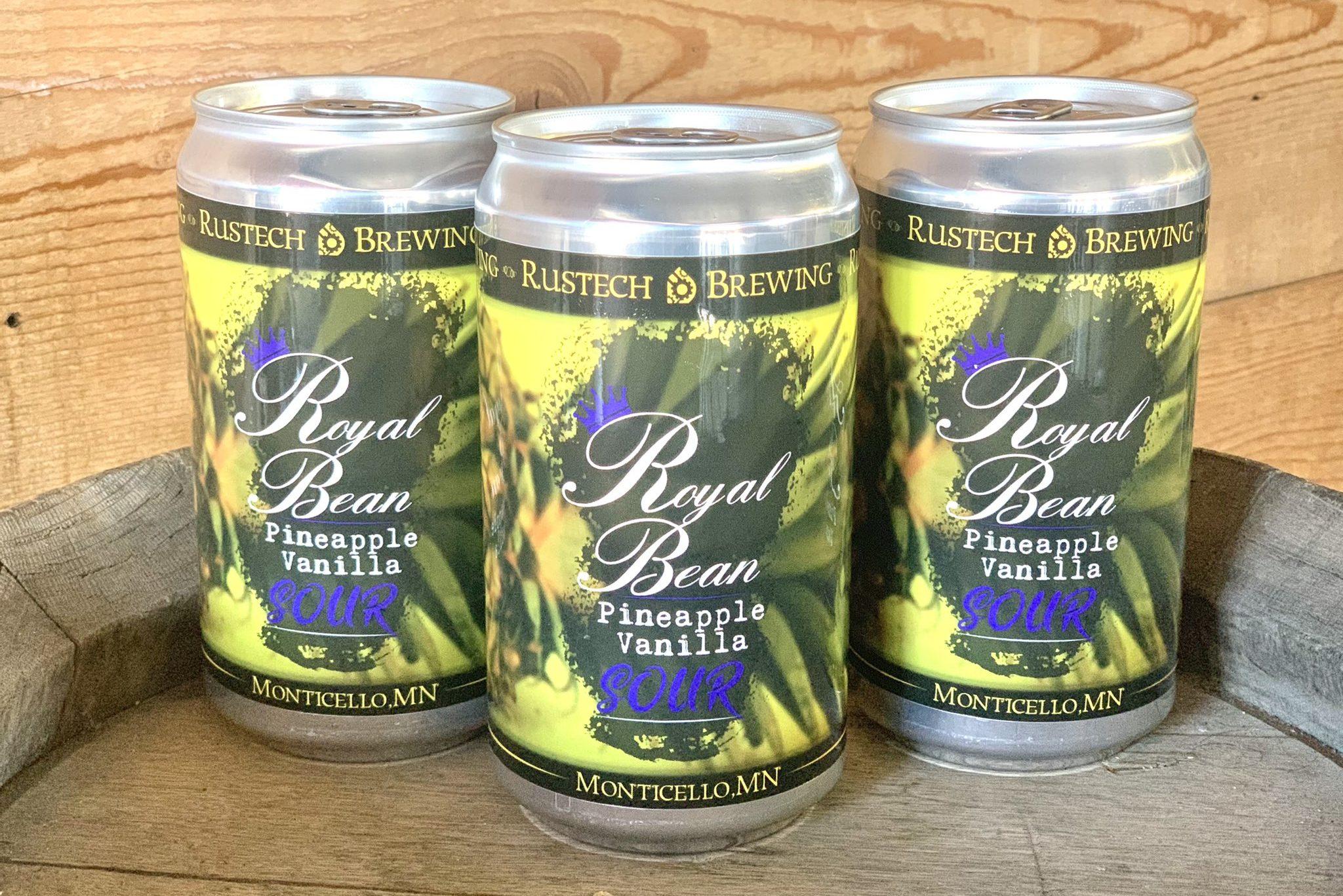 Rustech Royal Bean Pineapple Vanilla Sour • Photo via Rustech Brewing