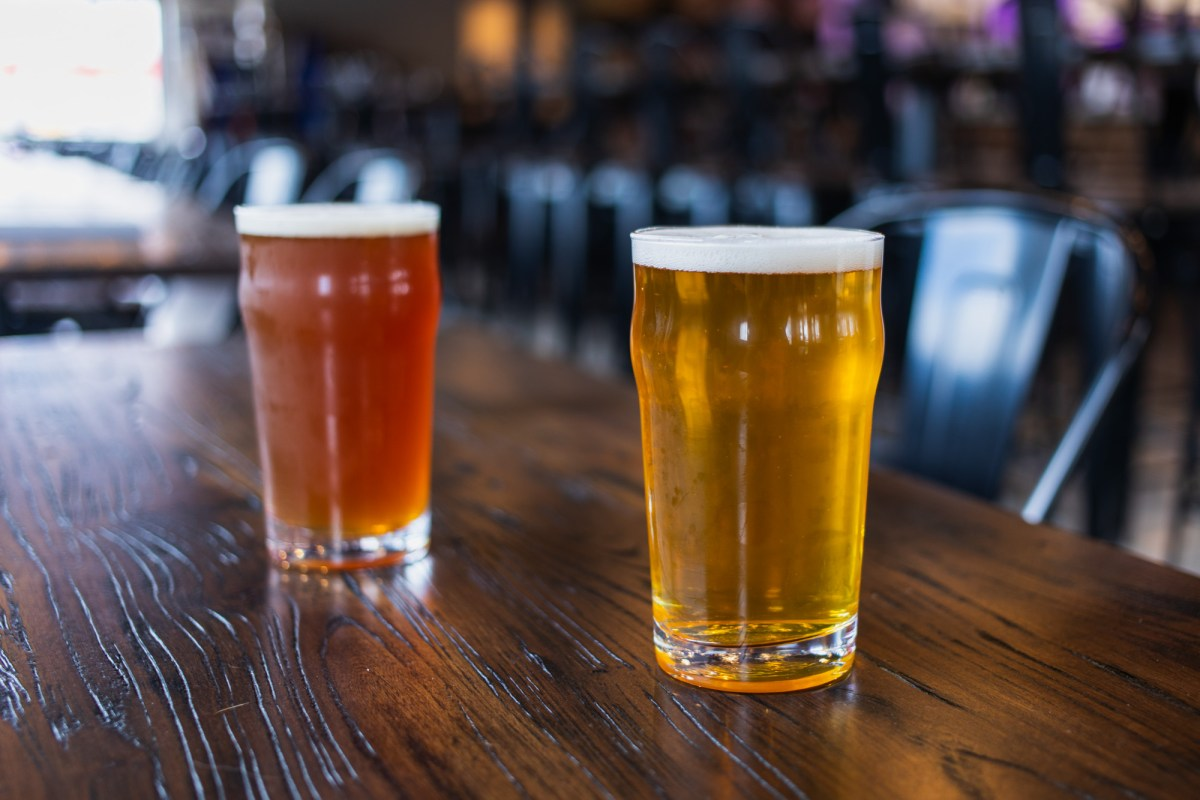 Chanhassen Brewing Company will have nine beers on tap for opening day • Photo by Jordan Wipf