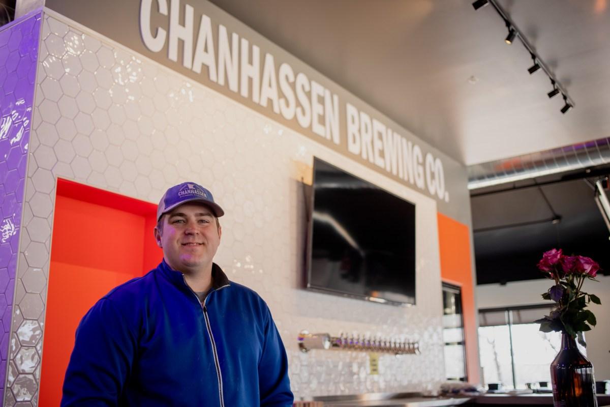 Matthew Rosati, co-founder of Chanhassen Brewing Company • Photo by Jordan Wipf