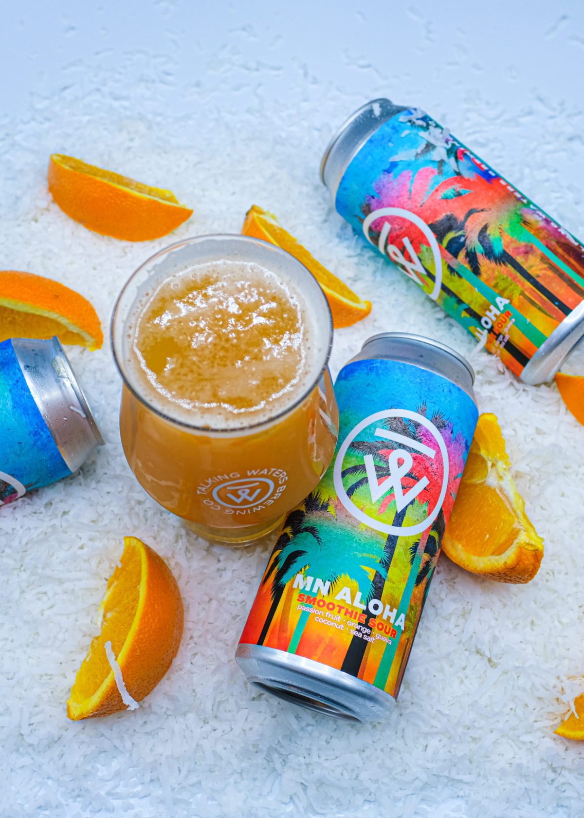 Talking Waters MN Aloha Smoothie Sour • Photo via Talking Waters Brewing Company