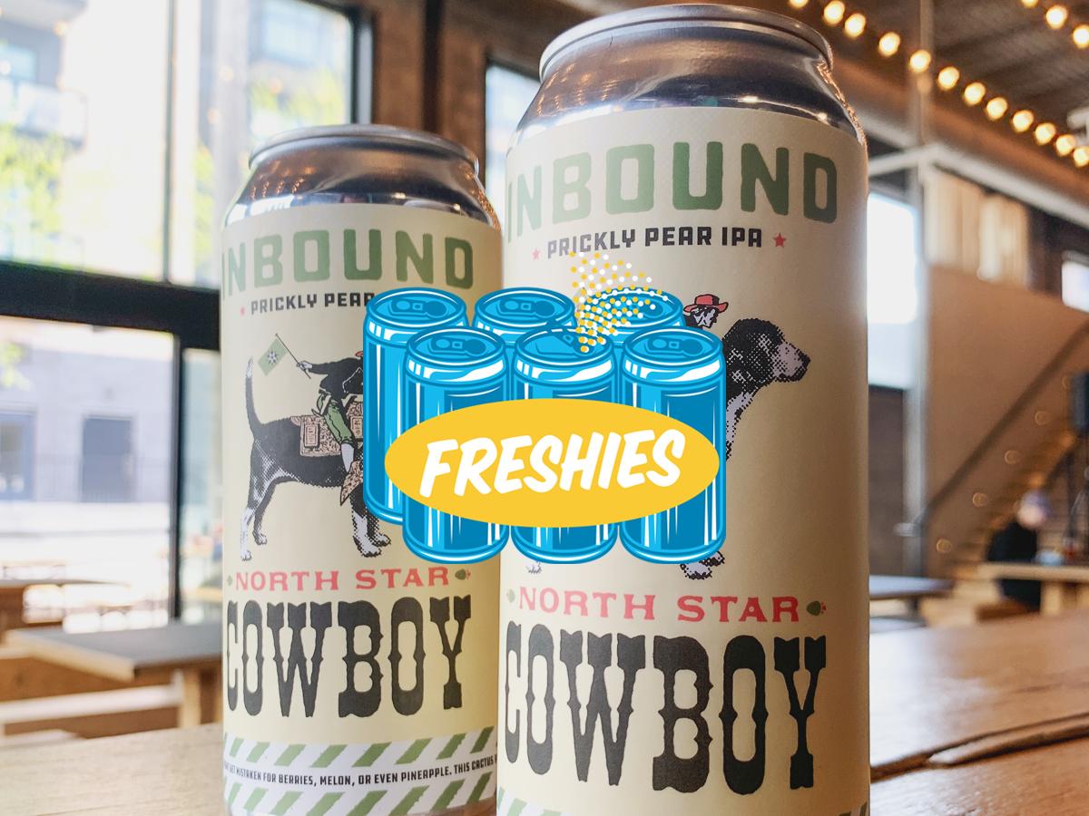 Inbound North Star Cowboy Prickly Pear IPA • Photo via Inbound BrewCo