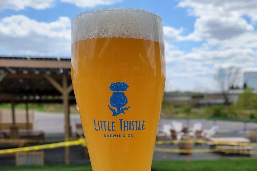 Little Thistle #nofilter Hefeweizen • Photo via Little Thistle Brewing Co.