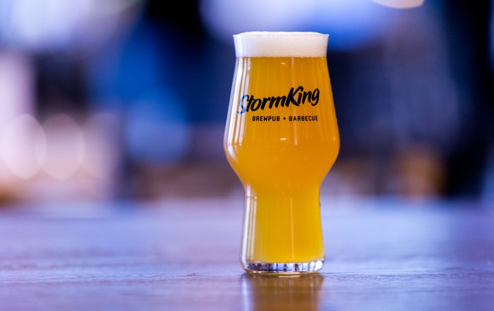 The beer brewed at StormKing are recipes from Rapids Brewing Company in Grand Rapids, Minnesota • Photo by Jordan Wipf