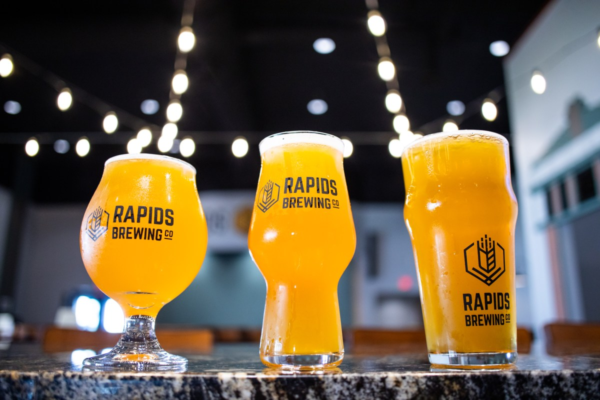 Rapids Brewing • Photo by Tj Turner