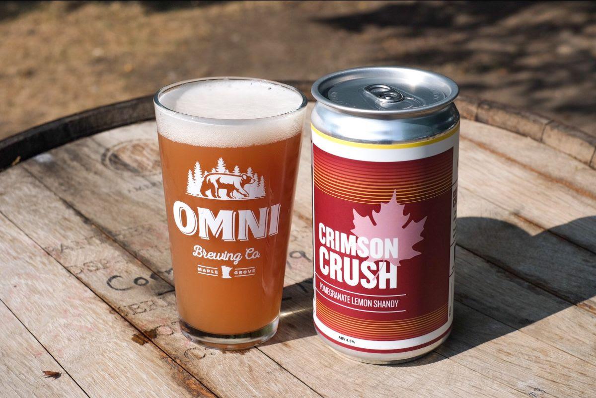 OMNI Crimson Crush • Photo via OMNI Brewing