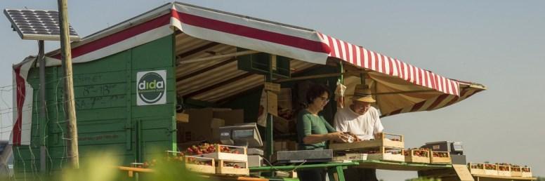 Unser Erdbeerwagen