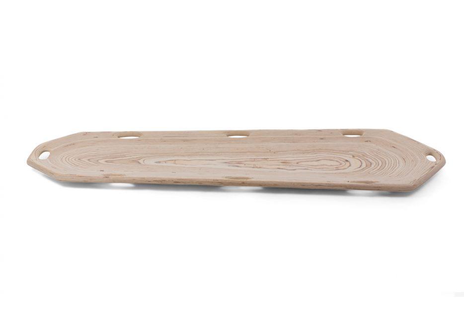 opbaarplank draagbaar baar hout bijzonder wade linnen katoen