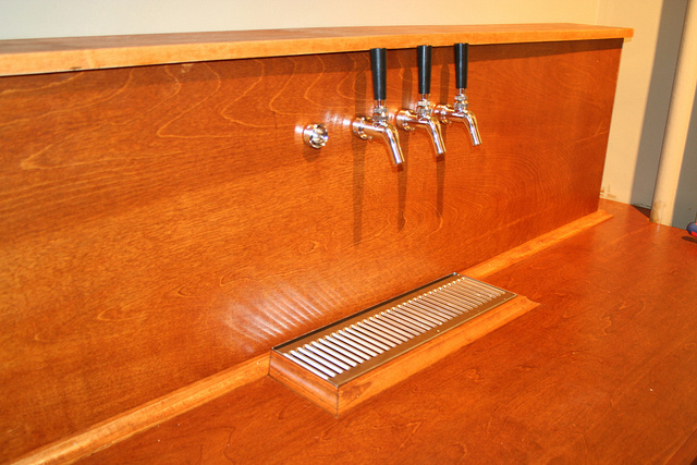 Stained Bar, Minus 1 Faucet by Callie Reed on flickr