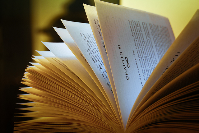 Light Reading by Martin on flickr (CC BY 2.0)