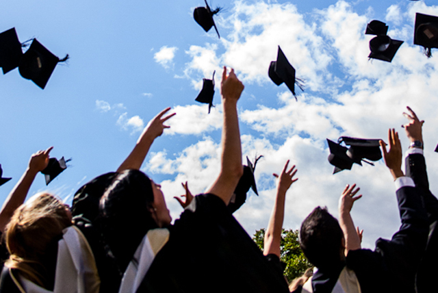 Graduation by Mark Ramsay on flickr (CC BY 2.0) has been modified from it's original state
