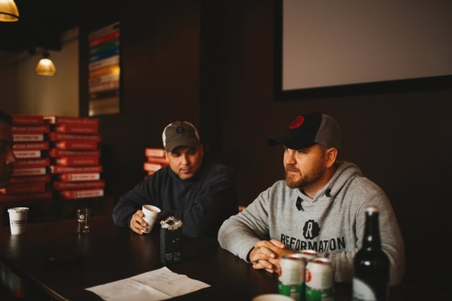 The Beer Guys talking with Spencer Nix and Nick Downs at Reformation Brewery