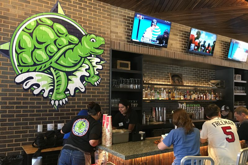 Terrapin Tap Room Braves SunTrust