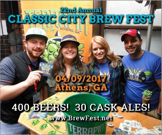 Classic City Brew Fest 2017