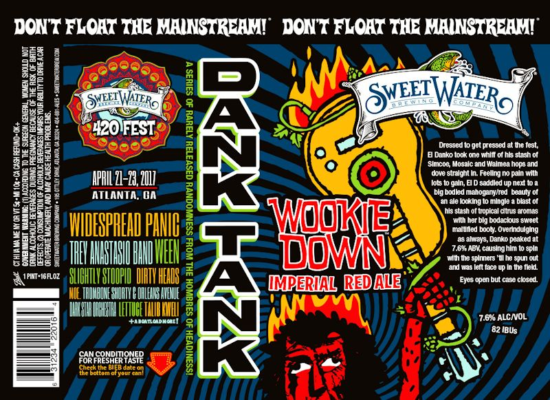 SweetWater Wookie Down Label