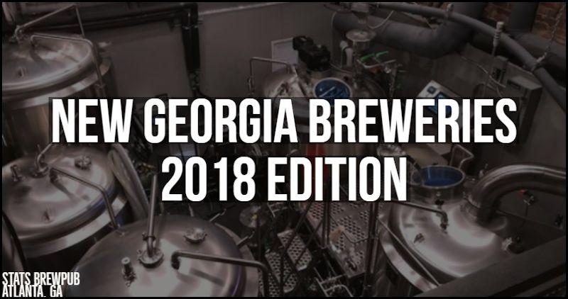 New Georgia Breweries 2018