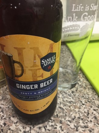 Sam Adams Ginger Beer 001