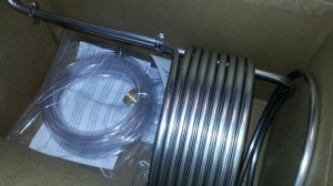 Stainless Steel Immersion Wort Chiller