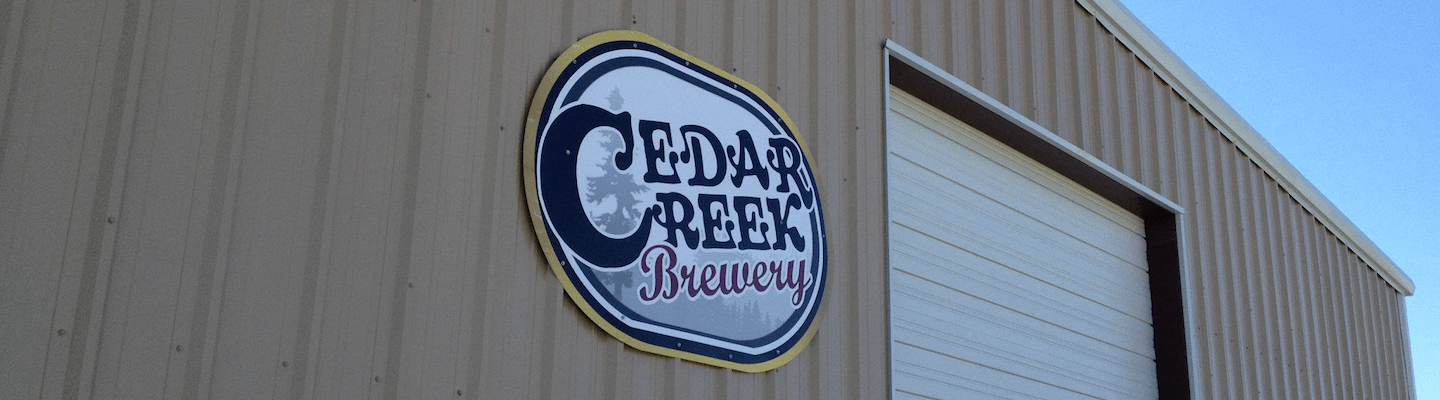 Cedar Creek Brewery Logo [Featured]
