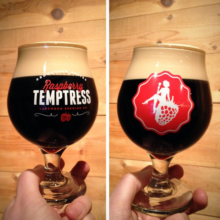 Lakewood Raspberry Temptress Glasses