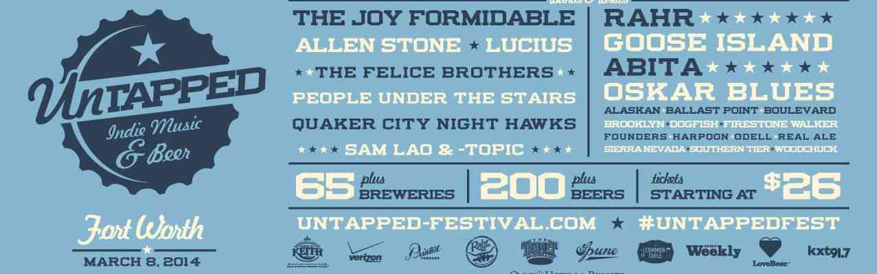 Untapped Fort Worth 2014 Blue Banner