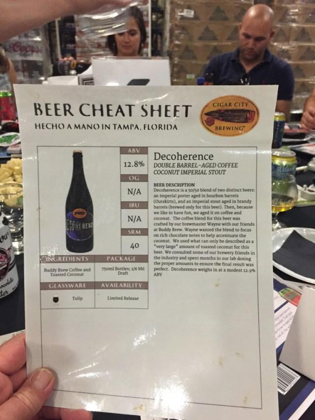 CCB cheat sheet