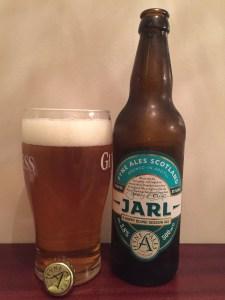 Jarl blond ale, Fyne Ales, 3.8% ABV