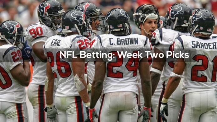 NFL Betting- Week Two Picks