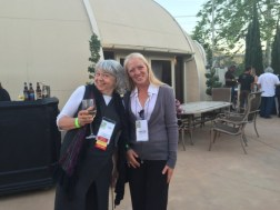 Catt W. (L), San Diego Markets Director, and Robyn G., Market Manager, at the California Small Farms Conference Tasting Reception.