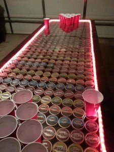 Light Up Dip Can Table