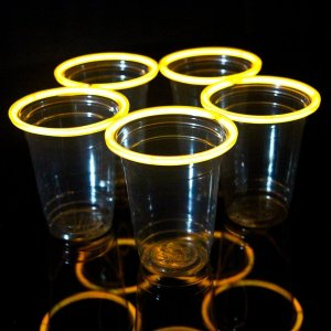 Orange Beer Pong Cups