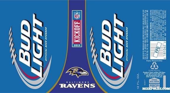 Nfl Bud Light Beer Cans