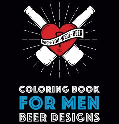 Coloring-Book-For-Men-Beer-Designs-Volume-2-0