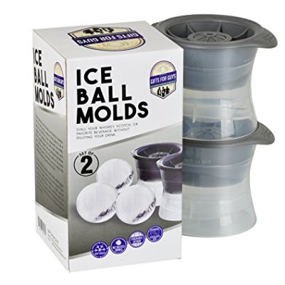 Gifts-for-Guys-Sphere-Ice-Molds-Set-of-2-Ice-Cube-Molds-that-are-essential-for-any-dad-brother-men-or-guys-home-barware-collection-0