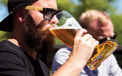 Das Boot – The Boot Beer Glass That Holds 5 Beers